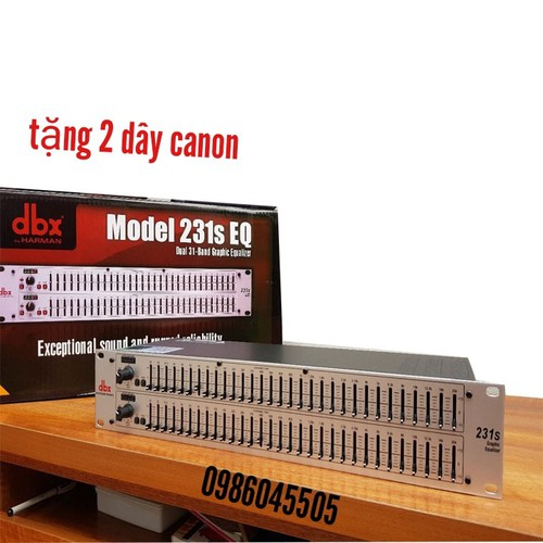 lọc âm thanh dbx 231s kèm jack-dbx 231s