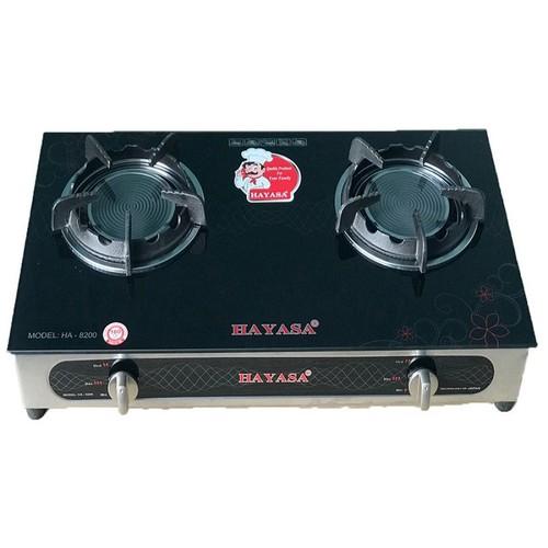 Bếp Gas đôi cao cấp công nghệ Nhật Bản HAYASA HA-8200 ĐGĐ