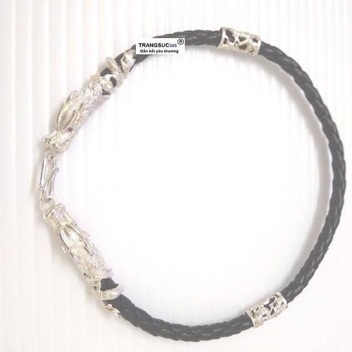 Lắc tay nam bạc ts365-la025