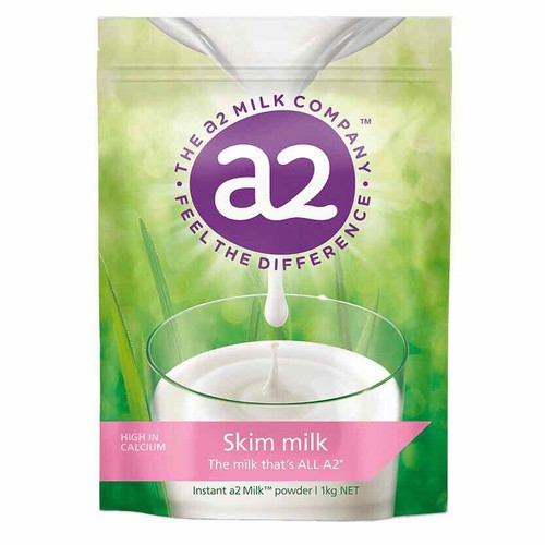 Date 10-2020 - sữa a2 úc tách béo gói 1kg