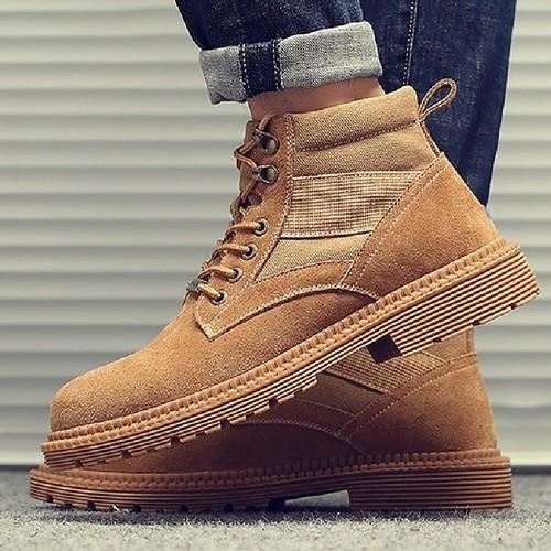 Giày boot nam cao cấp - Giày nam