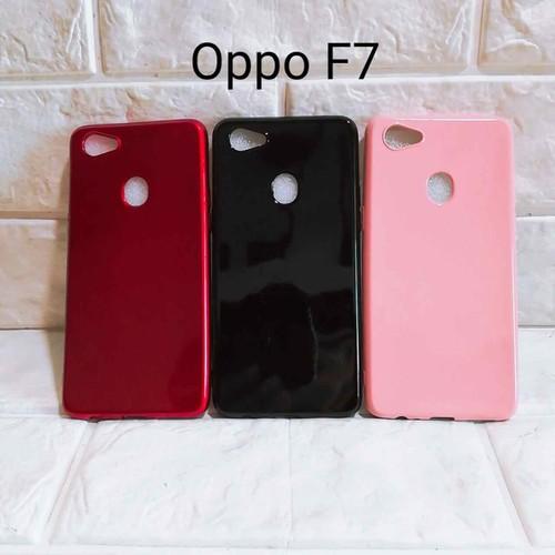 Ốp lưng Oppo F7 bóng dẻo kim tuyến