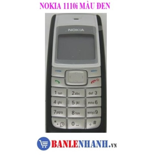 ĐIỆN THOẠI NOKIA 1110I CHÍNH HÃNG MÀU ĐEN ĐẦY ĐỦ PIN SẠC