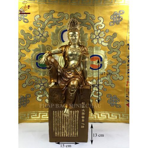 Tượng Quan Âm Tự Tại đồng 47cm - 6794587 , 13499211 , 15_13499211 , 12000000 , Tuong-Quan-Am-Tu-Tai-dong-47cm-15_13499211 , sendo.vn , Tượng Quan Âm Tự Tại đồng 47cm