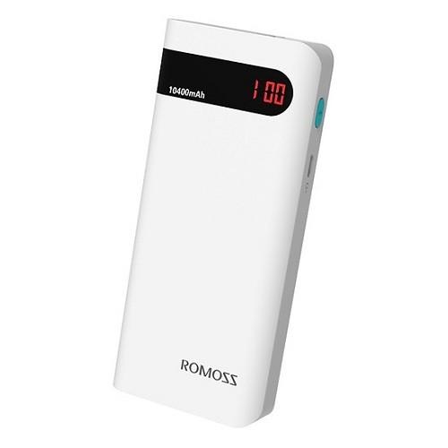 Pin sạc dự phòng Romoss Sense 4P 10000mAh [Trắng] - Hãng phân phối chính thức - ROMOSS.SENSE4P-10000MAH.T