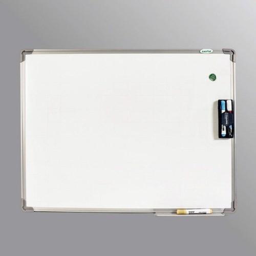 BẢNG TỪ TRẮNG VIẾT BÚT LÔNG 80x120cm_Tặng bút-bông lau-nam châm