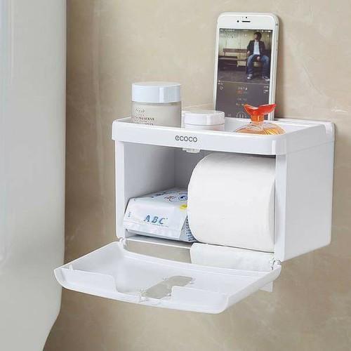 hộp đựng giấy vệ sinh đa năng cao cấp coco