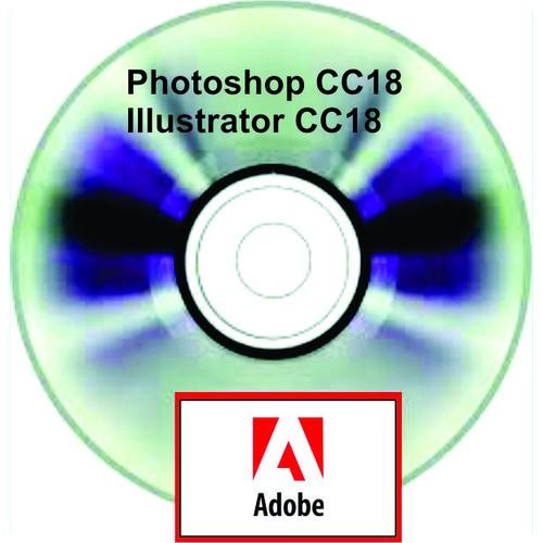 Bộ đĩa DVD Photoshop & Illustrator CC18_ Bonus Giáo trình