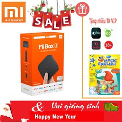 TV Box Xiao-mi MIBOX S 4K QUỐC TẾ 2018 - Hàng chính hãng BH 12T Digiworld