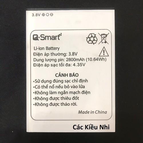 Pin QS558 QS5580914 Q Smart Qsmart Q mobile QMobile zin chính hãng - 6791484 , 13495204 , 15_13495204 , 179000 , Pin-QS558-QS5580914-Q-Smart-Qsmart-Q-mobile-QMobile-zin-chinh-hang-15_13495204 , sendo.vn , Pin QS558 QS5580914 Q Smart Qsmart Q mobile QMobile zin chính hãng