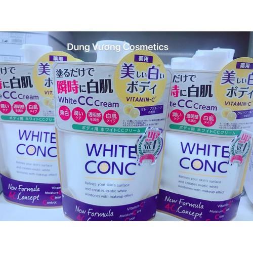 Kem dưỡng trắng white cc cream white conc