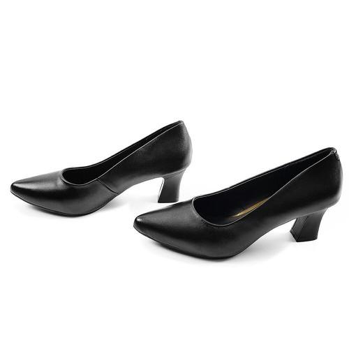 [ Da thật rẩt mềm ôm chân ] Giày Cao Gót 5cm Da Bò Thật Mềm Mại Phong Cách Classic Evelynv 5P12