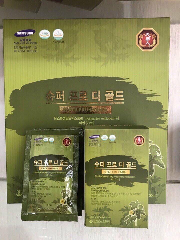Nước uống bổ gan Hàn Quốc cho người tiểu đường 1