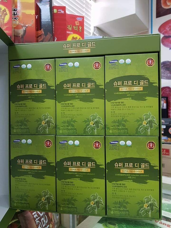 Nước uống bổ gan Hàn Quốc cho người tiểu đường 2