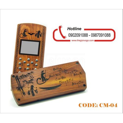 Vỏ gỗ điện thoại 1110i, 1202, 1280 Thư pháp Cha Mẹ