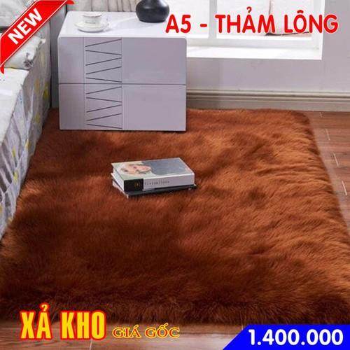 Thảm lót sàn lông nhập khẩu mẫu 3