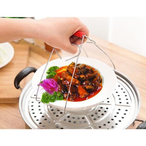 Dụng cụ gấp nóng thức ăn