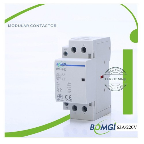 Khởi động từ contactor 63A 2P 220V