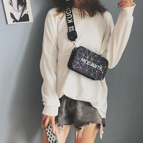 Túi đeo chéo nữ MOSIQITE hàng Quảng Châu cao cấp