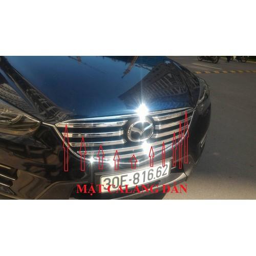 Mặt calang dán xe Mazda Cx5