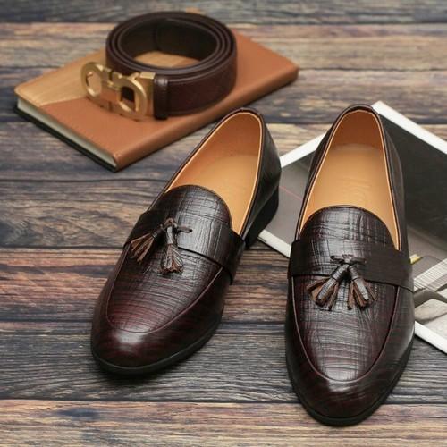 Giày tây nam nơ chuông