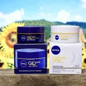 Bộ kem dưỡng da Nivea Q10 Plus - Nivea Q10 Plus ngày và đêm