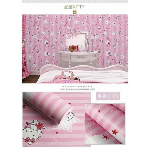 10m giấy dán tường mèo kitty hồng cực dễ thương có sẵn keo khổ 45cm - 6812242 , 13520630 , 15_13520630 , 98000 , 10m-giay-dan-tuong-meo-kitty-hong-cuc-de-thuong-co-san-keo-kho-45cm-15_13520630 , sendo.vn , 10m giấy dán tường mèo kitty hồng cực dễ thương có sẵn keo khổ 45cm