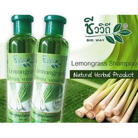 Cặp Gội Xả Thái Lan Mọc Tóc Bio Way Lemongrass - Cam Kết Chính Hãng - CGX092