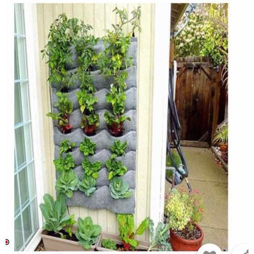 Túi vải trồng cây 20 ngăn