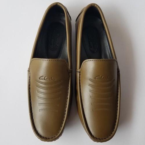 Giày Mọi Đế âm BIGBEN Da Bò Thật Cao Cấp CS128