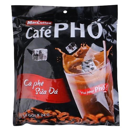 Cà phê sữa đá Café Phố MacCoffee Bịch 30 Gói - 6805986 , 13513906 , 15_13513906 , 100000 , Ca-phe-sua-da-Cafe-Pho-MacCoffee-Bich-30-Goi-15_13513906 , sendo.vn , Cà phê sữa đá Café Phố MacCoffee Bịch 30 Gói