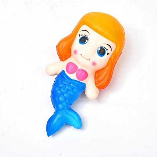 Squishy nàng tiên cá đáng yêu - màu ngẫu nhiên
