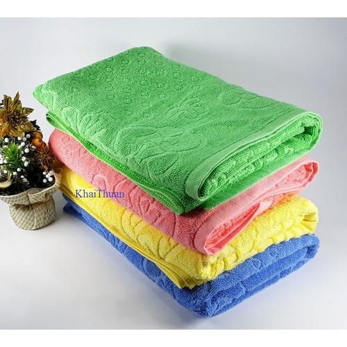 Bộ 02 khăn tắm Lý Vinh kích thước 60x120cm