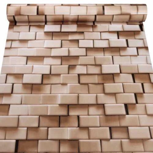 10m giấy dán tường gạch 3D logic có sẵn keo khổ 45cm - 6807561 , 13515530 , 15_13515530 , 100000 , 10m-giay-dan-tuong-gach-3D-logic-co-san-keo-kho-45cm-15_13515530 , sendo.vn , 10m giấy dán tường gạch 3D logic có sẵn keo khổ 45cm