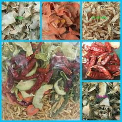 rau củ sấy khô - làm dưa món cho ngày Tết - bán lẻ 200g và 500g