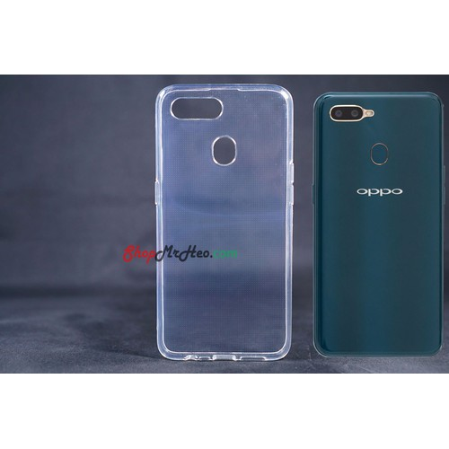 Ốp Lưng Dẻo Trong Suốt OPPO A7