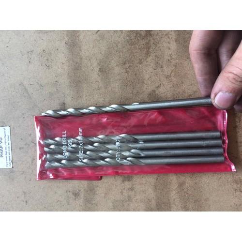 mũi khoan sắt - khoan gỗ 7li dài 156mm - ngành gỗ