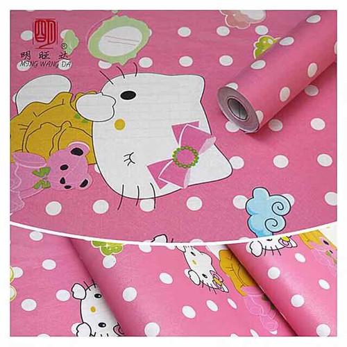 10m giấy dán tường mèo kitty hồng dễ thương có sẵn keo khổ 45cm - 6811477 , 13519768 , 15_13519768 , 98000 , 10m-giay-dan-tuong-meo-kitty-hong-de-thuong-co-san-keo-kho-45cm-15_13519768 , sendo.vn , 10m giấy dán tường mèo kitty hồng dễ thương có sẵn keo khổ 45cm