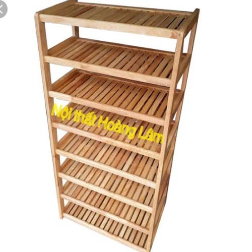 Kệ giầy dép 8 tầng gỗ cao su - 6808719 , 13516773 , 15_13516773 , 730000 , Ke-giay-dep-8-tang-go-cao-su-15_13516773 , sendo.vn , Kệ giầy dép 8 tầng gỗ cao su