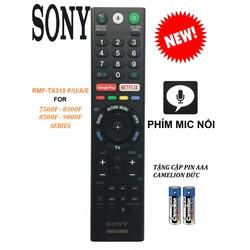 REMOTE ĐIỀU KHIỂN TIVI SONY SMART RMF-TX310P 310U 310E 310A PHÍM MIC NỔI TẶNG PIN