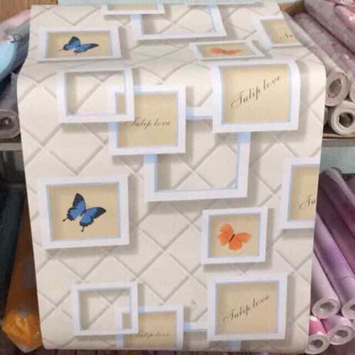 10m giấy dán tường bướm ô vuông có sẵn keo khổ 45cm - 6811481 , 13519782 , 15_13519782 , 98000 , 10m-giay-dan-tuong-buom-o-vuong-co-san-keo-kho-45cm-15_13519782 , sendo.vn , 10m giấy dán tường bướm ô vuông có sẵn keo khổ 45cm
