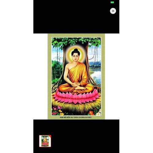 Tranh dán tường Phật Tổ 110x90 cm
