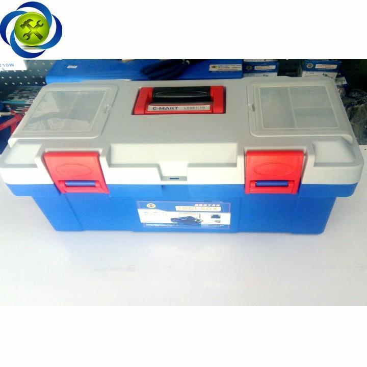 Thùng đồ nghề nhựa C-Mart L0046-17 400 x 200 x 190 2
