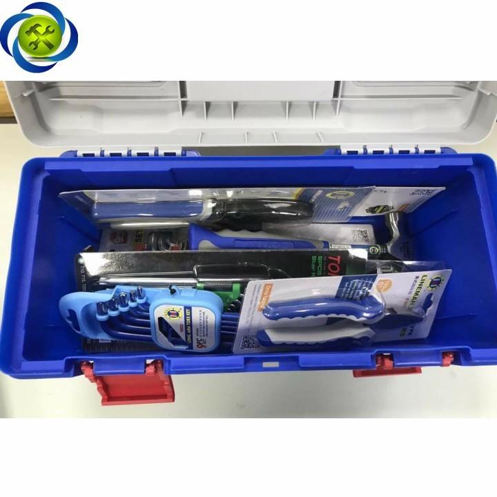 Thùng đồ nghề nhựa C-Mart L0046-17 400 x 200 x 190 4