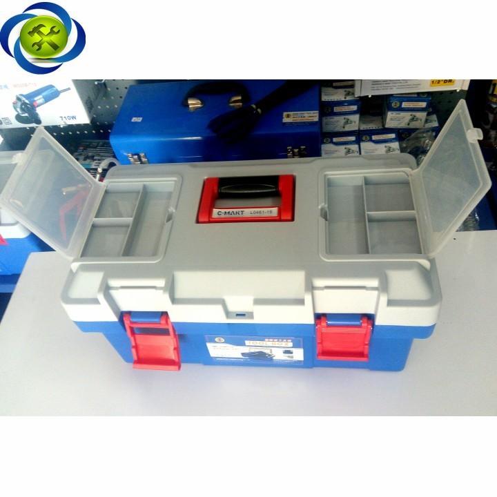 Thùng đồ nghề nhựa C-Mart L0046-17 400 x 200 x 190 3