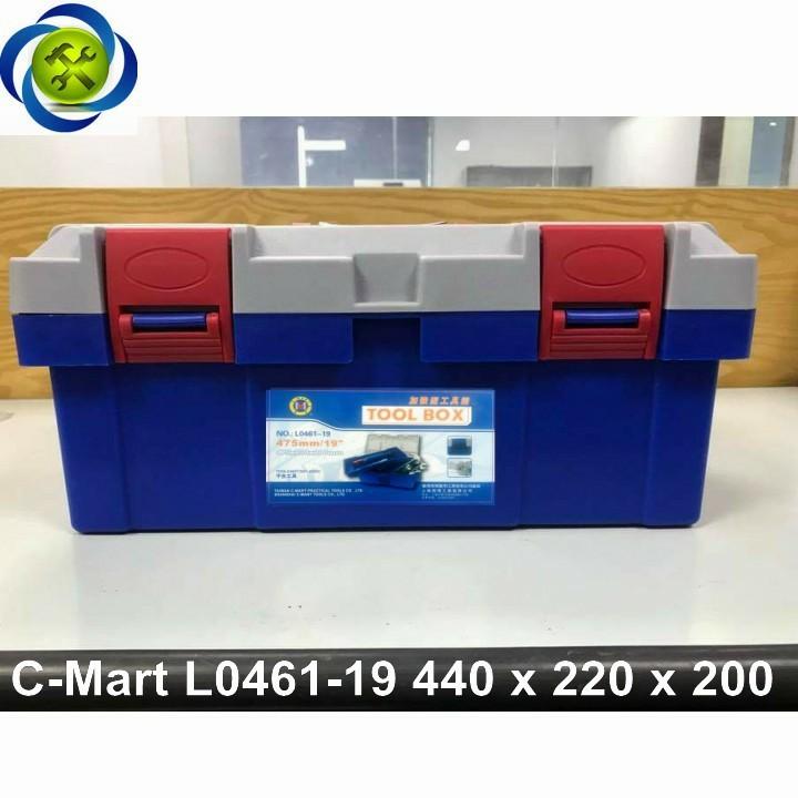 Thùng đồ nghề nhựa C-Mart L0461-19 440 x 220 x 200 1