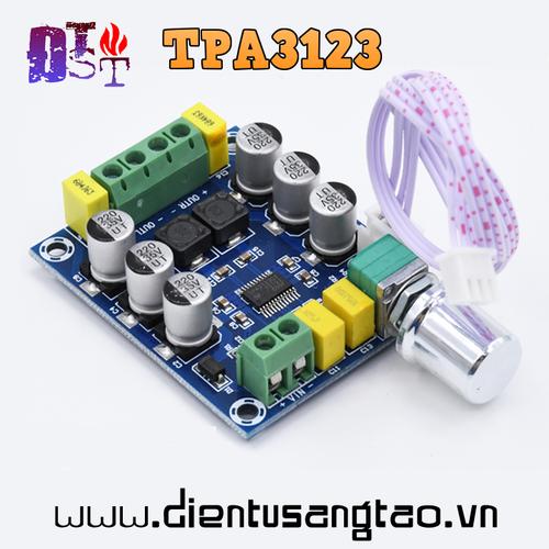 Mạch khuếch đại mini kĩ thuật số TPA3123 30W 2.0