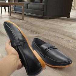 Giày lười da nam Muidoi G346 Trơn