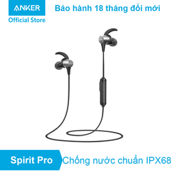Tai nghe Bluetooth SOUNDCORE Spirit Pro by Anker - A3402 - Đen