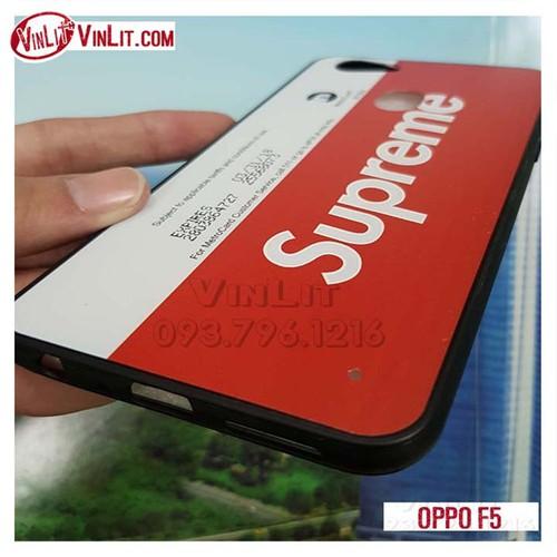 Ốp lưng Oppo F5 viền silicon dẻo Thể thao